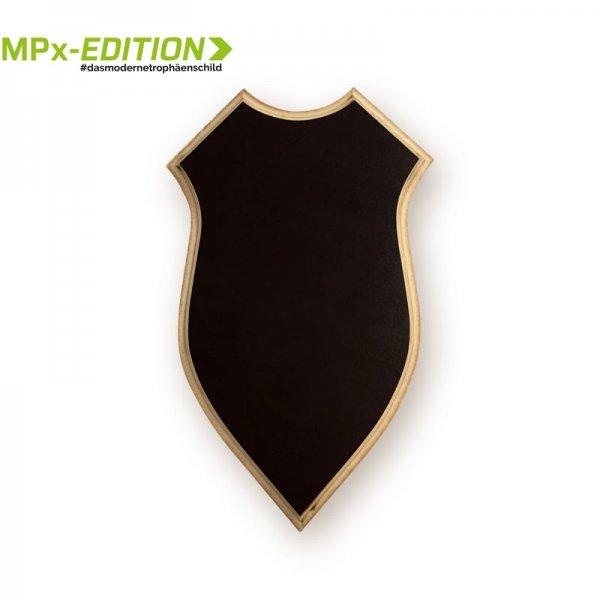 Gehörnbrettchen MPx – Wappenform