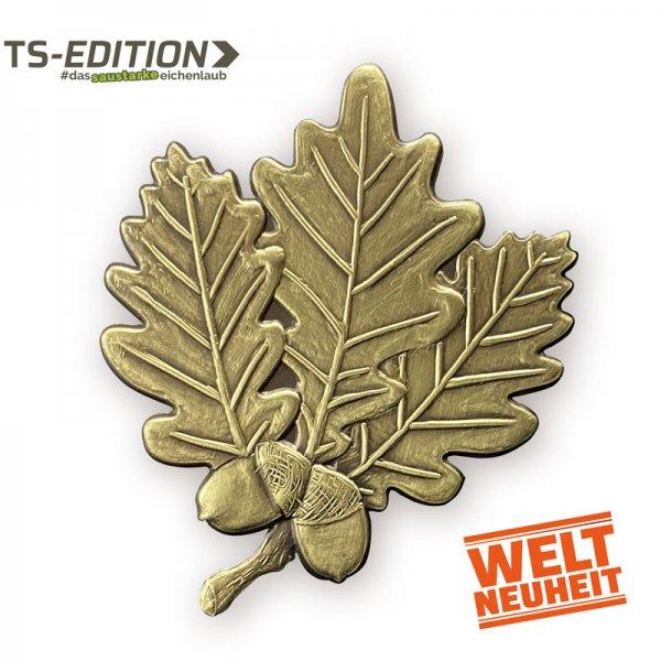 Abdeckung TS – Eichenlaub, bronze