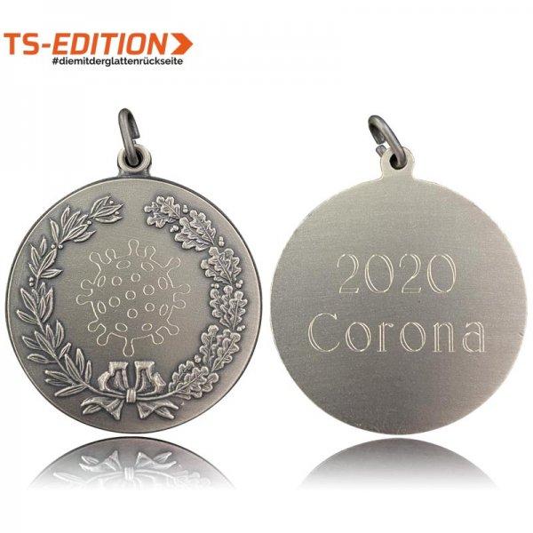 "Gravierte Jagdmedaille ""2020 Corona"""